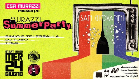 murazzi summer party