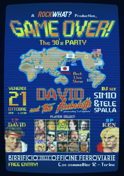 Game Over The 90's Party