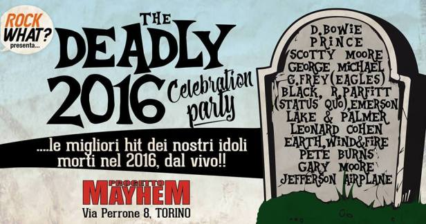 deadly 2016